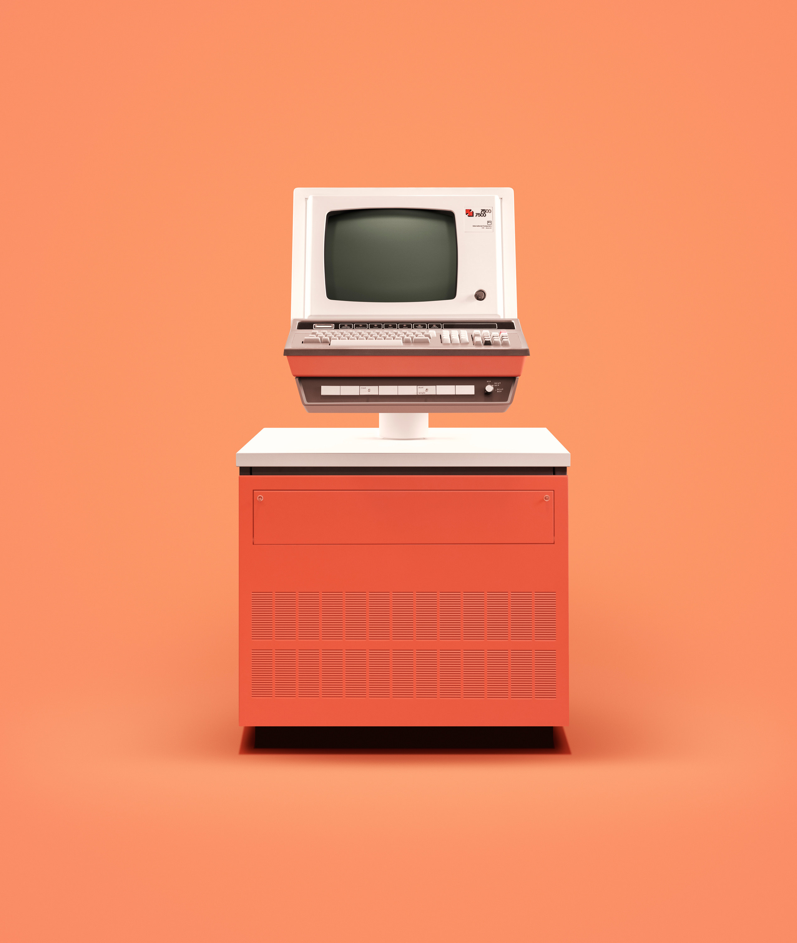 <p>The British-made ICL 7500 series from the 1970s included terminals and workstations designed for office use and, by the 1980s, to play games such as Pac­Man and Space Invaders.</p>