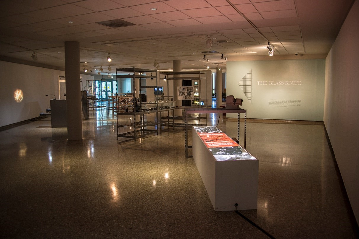 Installation view: The Glass Knife