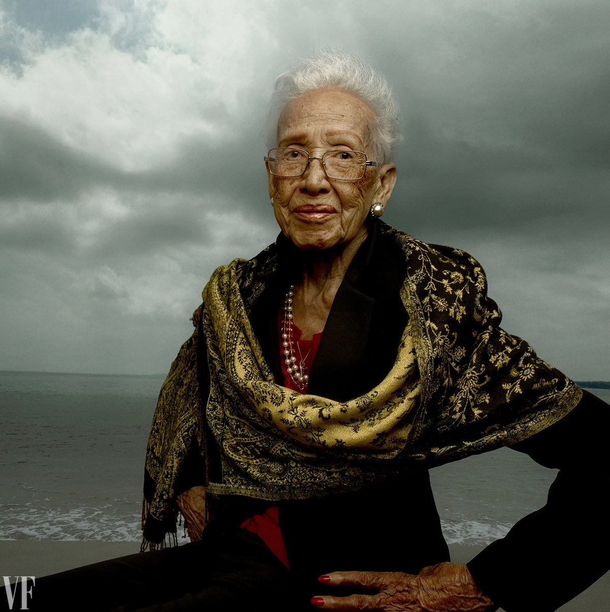 Katherine  Johnson 1 - NASA Physicist