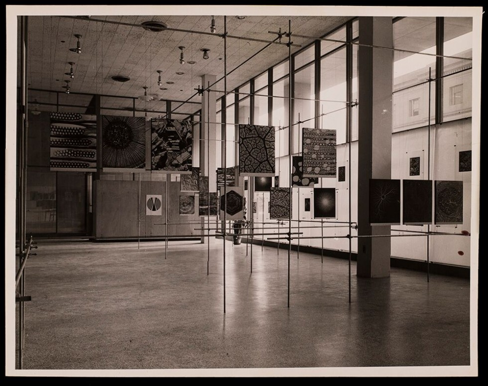 New Landscape of Art and Science, 1951, Installation view, The New Landscape of Art and Science, 1951, courtesy: MIT Museum, Cambridge, MA