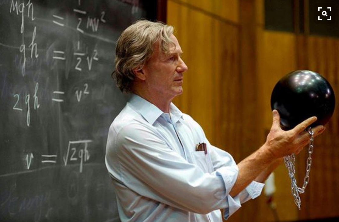John Hurt as Richard Feynman