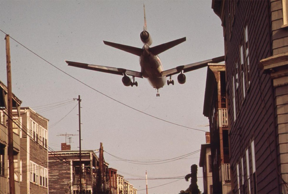 Michael Phillip Manheim, Approaching Logan Airport, c. 1972, courtesy: National Archives