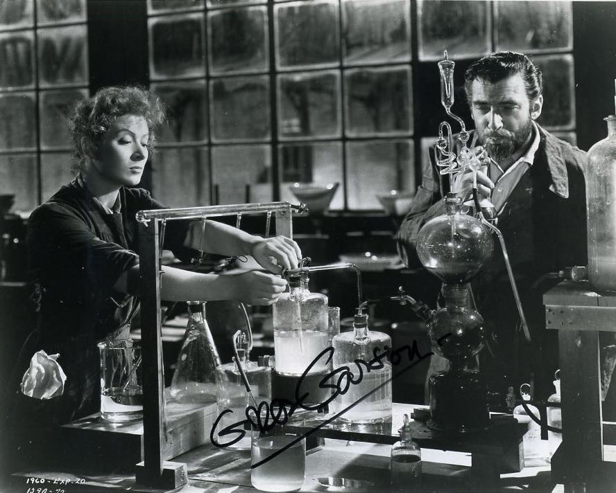 Greer Carson as Madame Curie