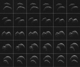 4.20.17 NASA RADAR IMAGES FOR ASTEROID VIDEO