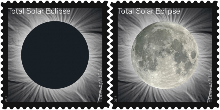 5.5.17 ECLIPSE OF SUN POSTAGE STAMP