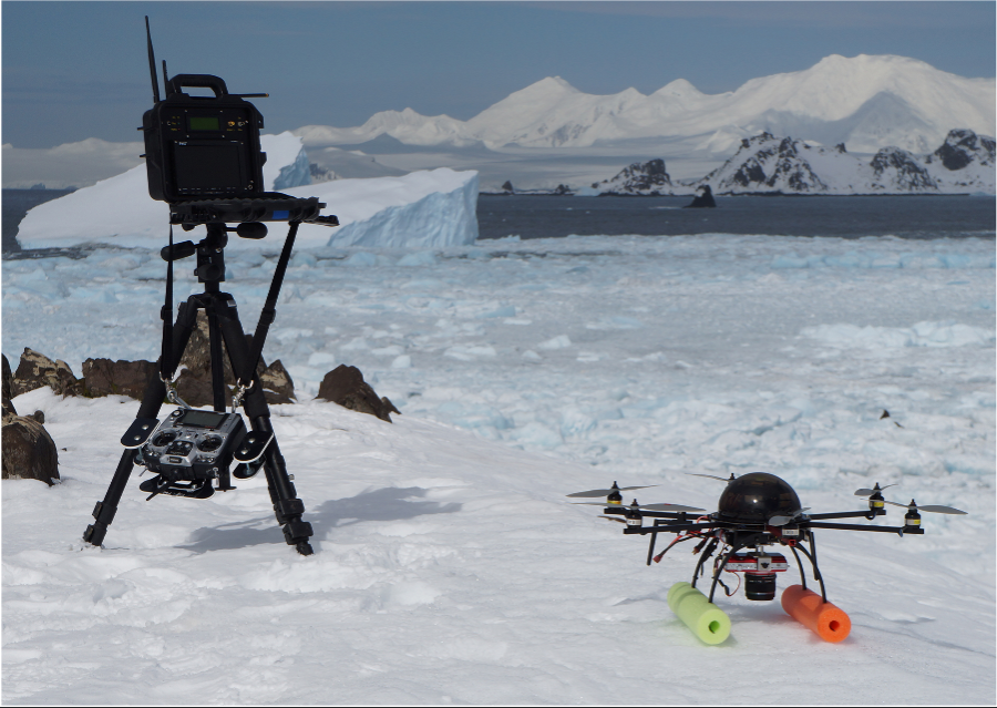 12.5.17 DRONES AND ANTARCTICA SEAL WATCH