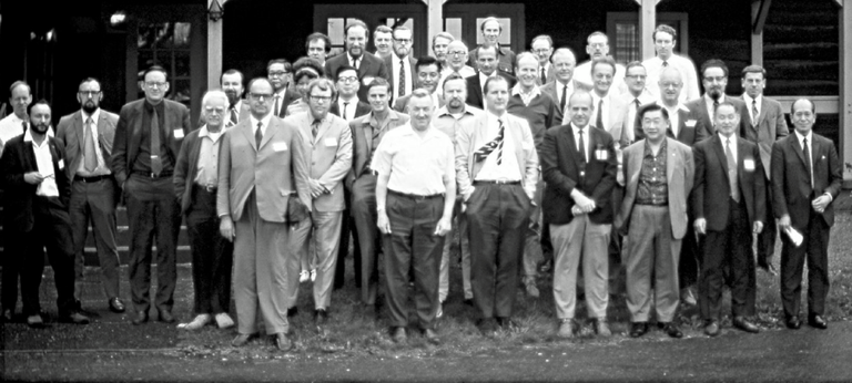 3.19.18 only woman in a photo of 38 men scientists...