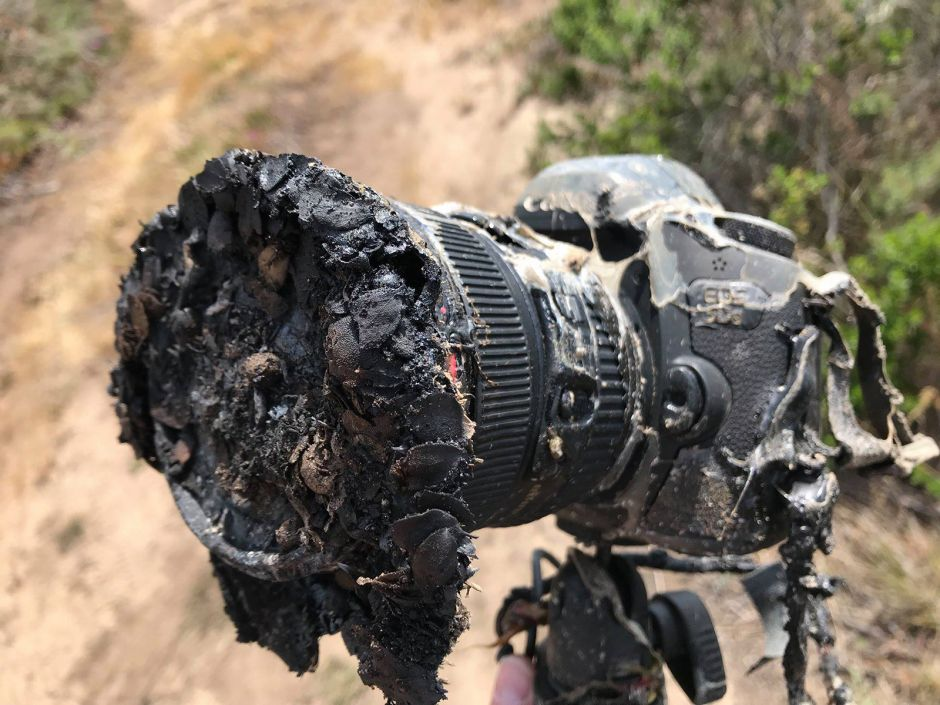 5.25.18 NASA PHOTOG CAMERA MELT